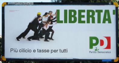 Manifesto taroccato del Pd