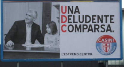 Manifesto taroccato Udc