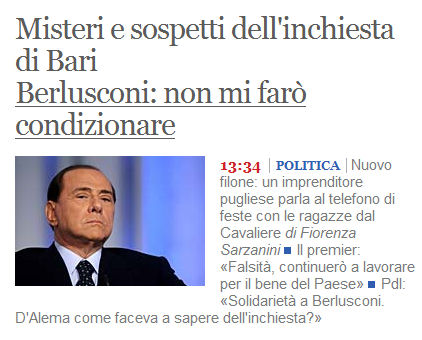 corriere golpe