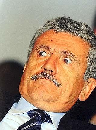 Massimo D'Alema superba foto