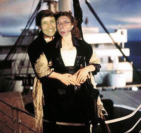 Franceschini e Fassino Titanic foto