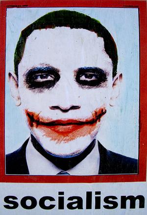 Barack Obama Joker foto