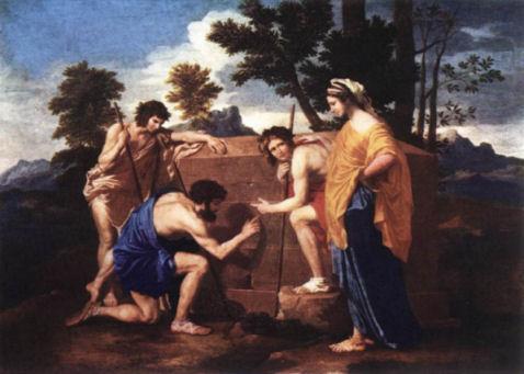 Nicolas Poussin Les bergers d'Arcadie