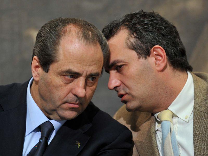 Antonio Di Pietro e Luigi De Magistris foto