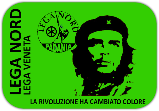 Che Guevara Lega Nord rivoluzione verde foto
