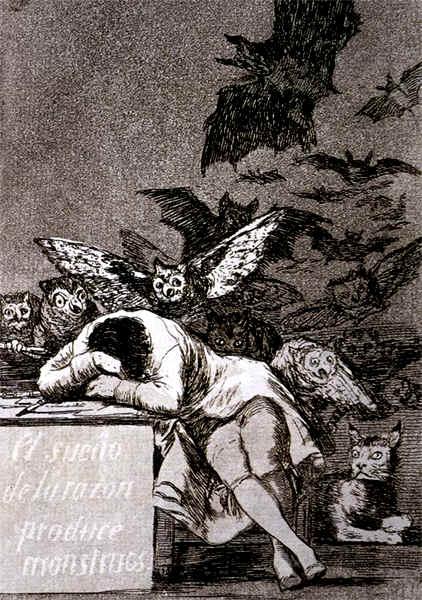 Il sonno della ragione Goya