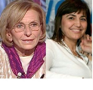 Emma Bonino e Renata Polverini foto