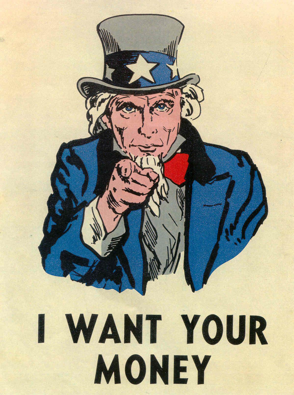 Voglio i tuoi soldi I want your money foto